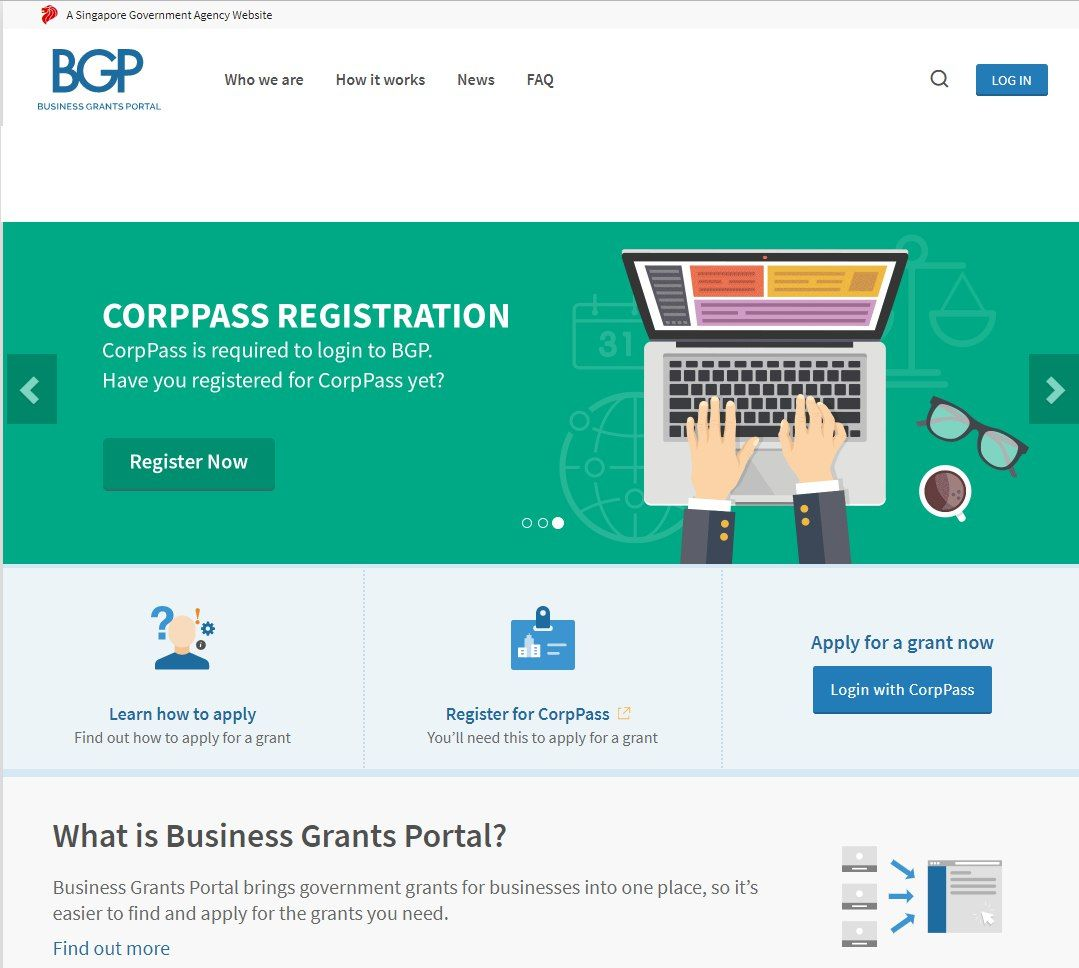 business grants portal