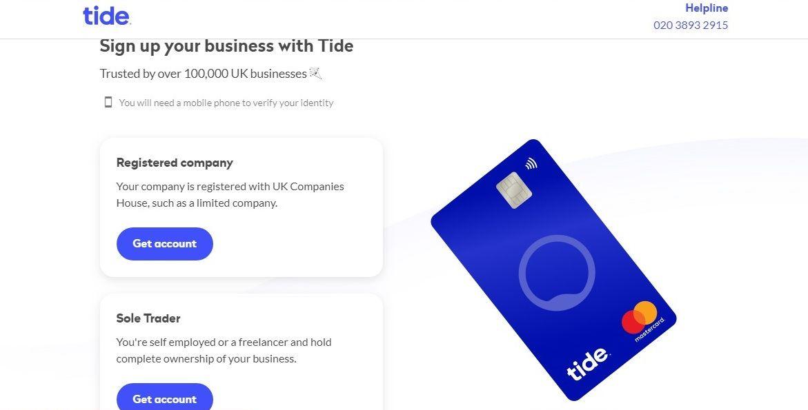 tide application beginning