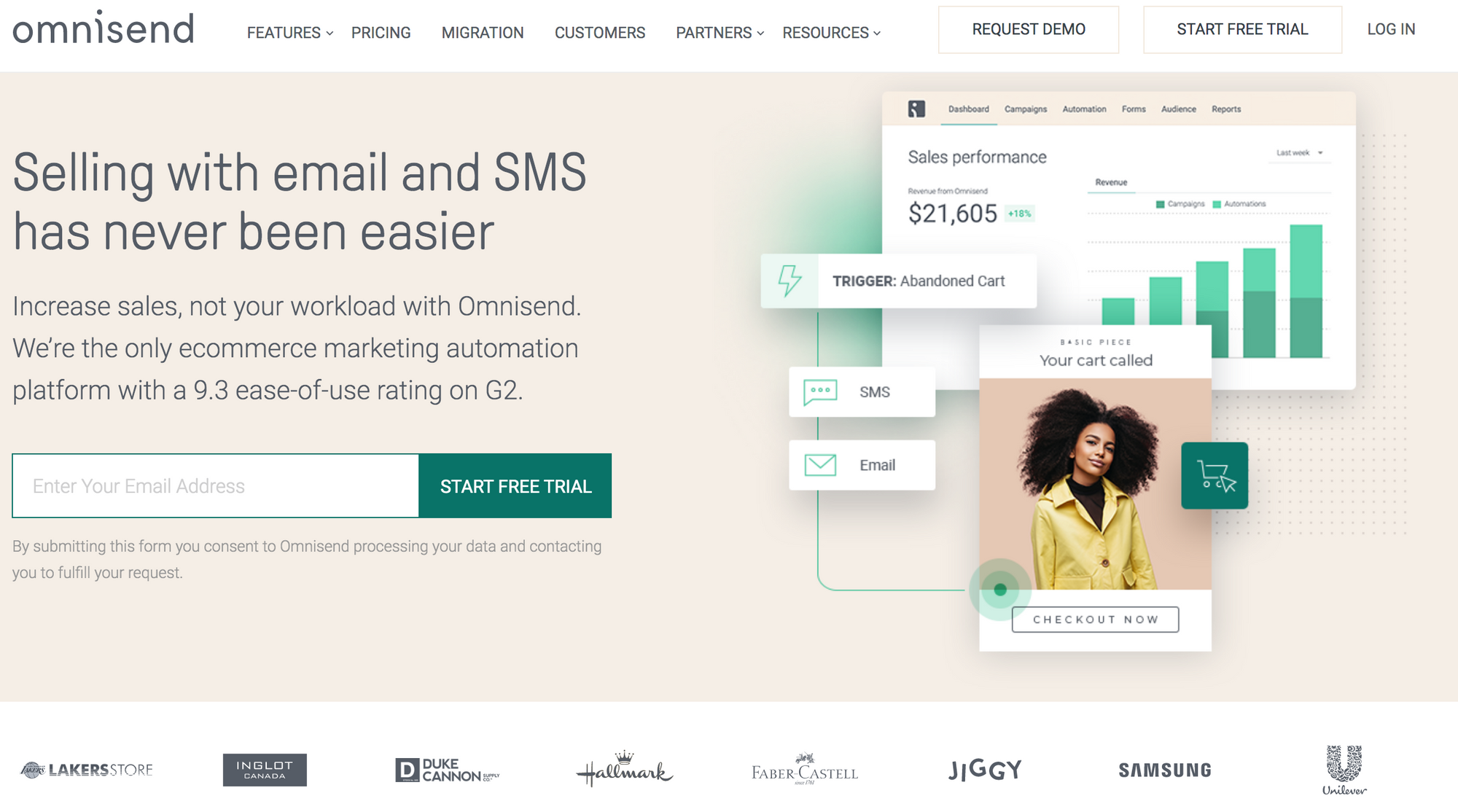 To Shopify Apps Omnisend
