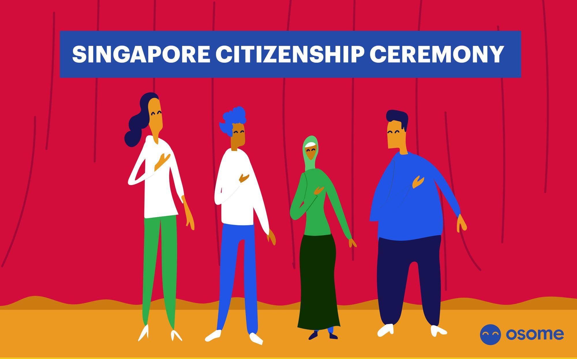 Singapore Citizenship Ceremony