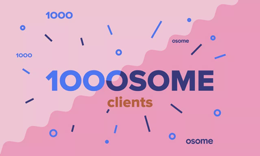 1,000 Osome Clients: The Osome Community is Growing