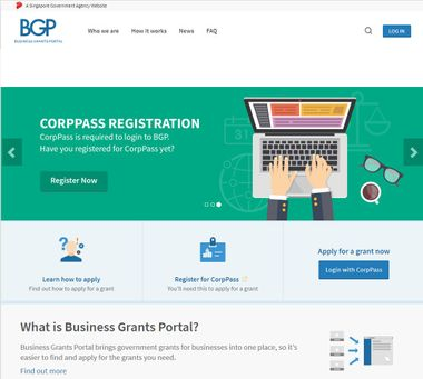 business grants portal
