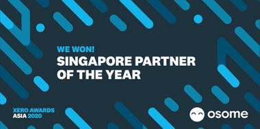 Osome Wins Singapore Partner of the Year at Xero Asia Awards