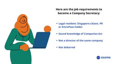 Company Secretary Job Responsibilities in Singapore