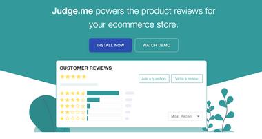 Top Free Shopify App Judge.me