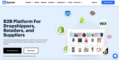 Top Shopify App Syncee