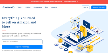 Helium 10 website
